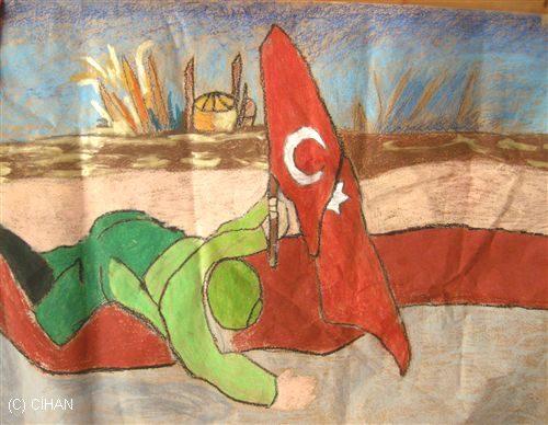 18 Mart Resim Yarişmasi çanakkale Zaferi Resmi çizim Sayfası 2019